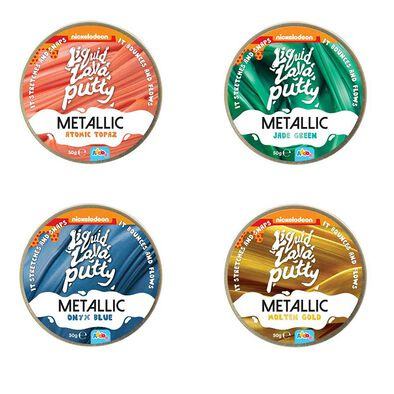 Nickelodeon Liquid Lava Putty Metallic - Assorted