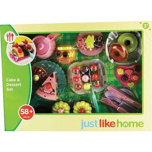 Just Like Home 58Pcs Cake And Dessert Set