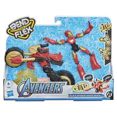 Marvel Avengers Bend And Flex Vehicle