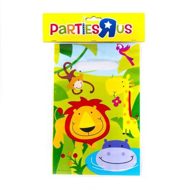 """Jungle Party Loot Bags (6""""X9"""")"""
