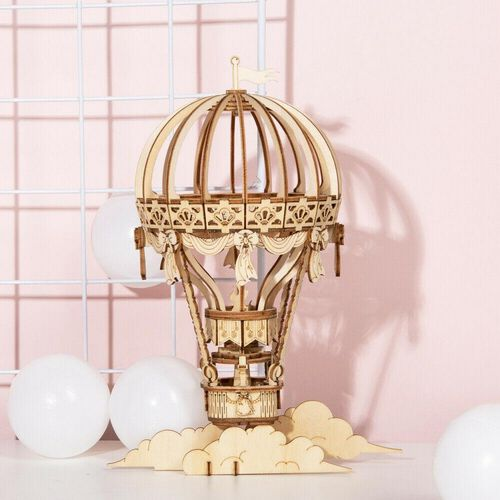 Robotime Hot Air Balloon 3D Wooden Puzzle
