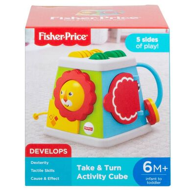 Fisher-Price Take and Turn Activity Cube