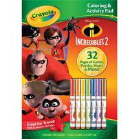 Crayola Color and Activity Pad