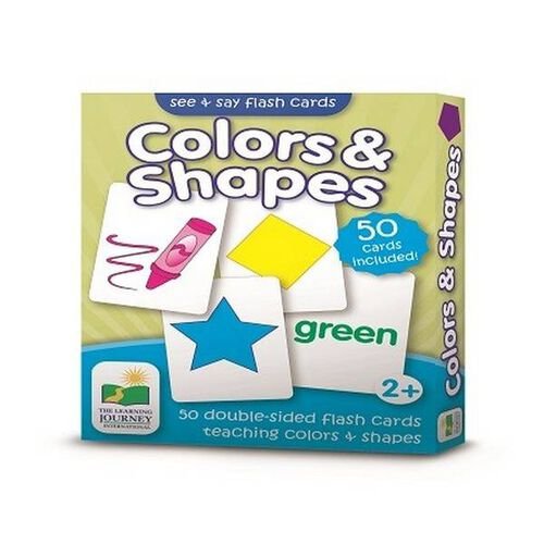 The Learning Journey Flashcards-Colour and Shape