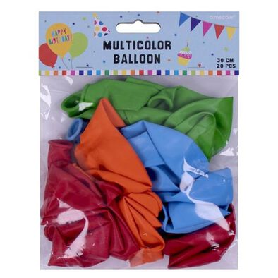 Multicolor Latex Balloon 20 Pieces