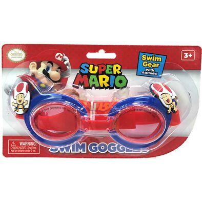 Nintendo Mushroom Swim Goggles