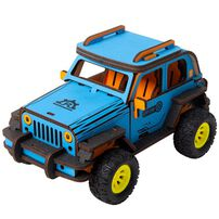 Robotime DIY Movable Off Road Jeep
