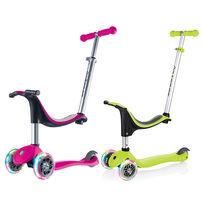 Globber Go•Up Sporty Lights Pink Scooter