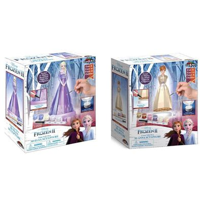Cra-Z-Art Disney Frozen 2 Create Your Own 3D Sculpture - Assorted
