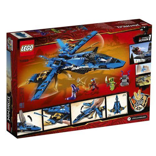 LEGO Ninjago Jay's Storm Fighter 70668