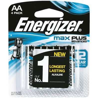 Energizer Max Plus Aa 4 Pcs