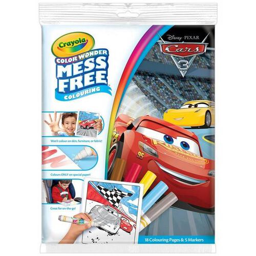 Crayola Cars 3 Color Wonder Overwrap