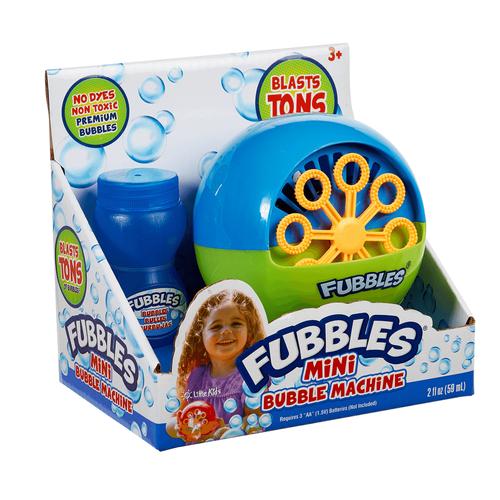 Fubbles Mini Bubble Machine - Assorted