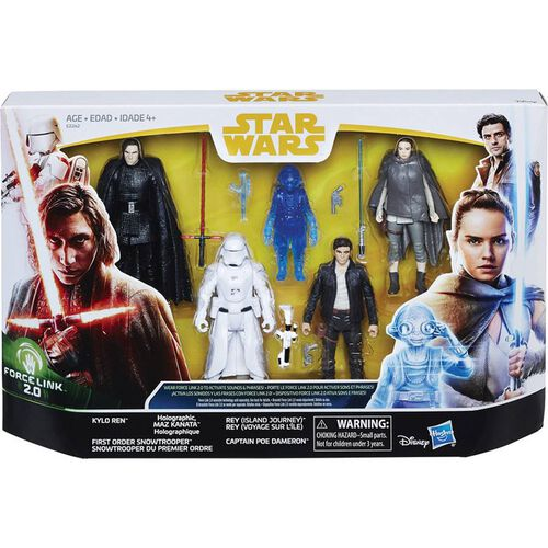 Star Wars The Last Jedi Force Link Multifigure Pack
