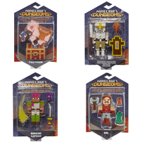 """Minecraft Dungeons 3.25"""" Figures - Assorted"""