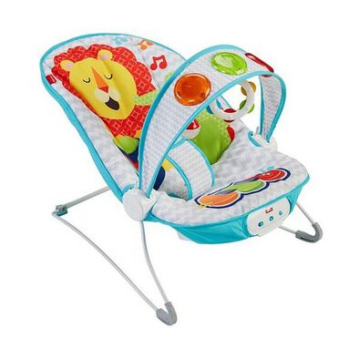 Fisher-Price Bg Kick N Play Musical Bouncer
