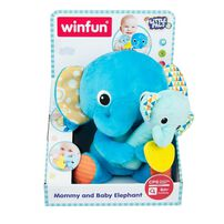 Winfun Mommy And Baby Elephant