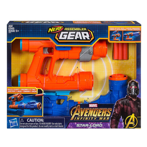 Marvel Avengers: Infinity War Nerf Star-Lord Assembler Gear
