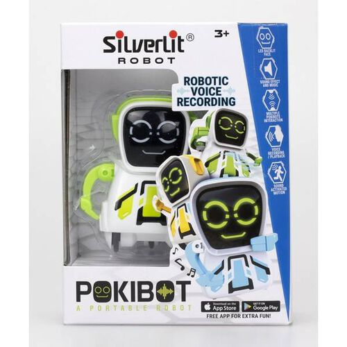 Silverlit Pokibot Square - Assorted