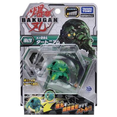 Bakugan Baku-026 Booster Basic Turtonium Green