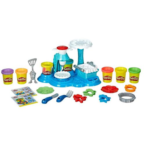 Play-Doh Rainbow Cake Party