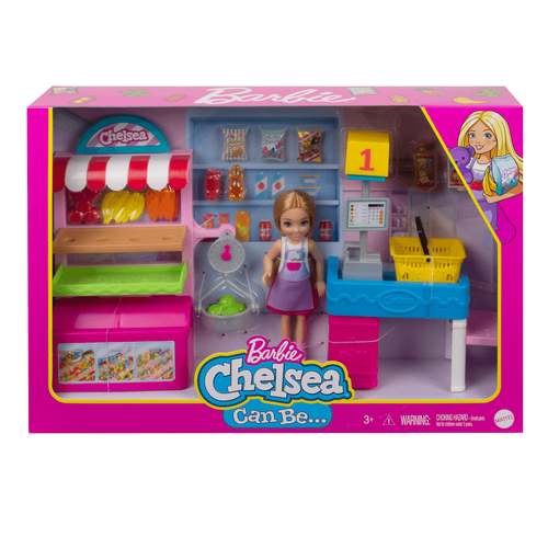 Barbie Chelsea Doll and Snack Stand Playset