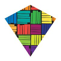 "X Kites 25"" Diamond Kite - Assorted"