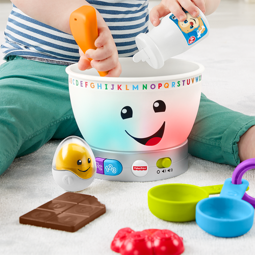 Fisher-Price Laugh & Learn Magic Color Mixing Bowl