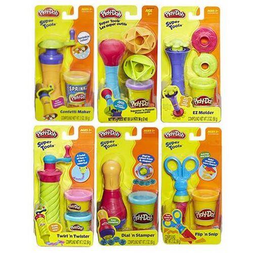 Play-Doh Super Tools 7Asst - Assorted