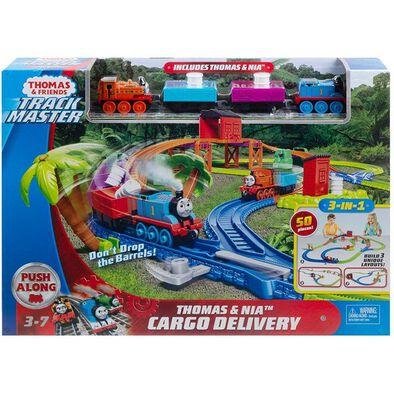 Thomas & Friends Trackmaster Thomas & Nia Cargo Delivery Playset