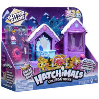 Hatchimals Colleggtibles Glitter Sparkle Salon Playset S6