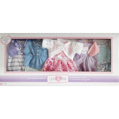 "You & Me 12""-14"" 5 Pack Playtime Outfits"