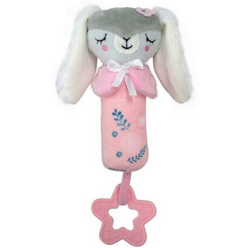 Simple Dimple Friends Squeakie Toy With Teether