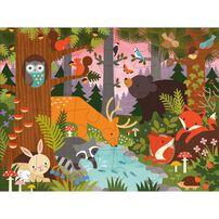 Petit Collage Floor Puzzle Enchanted Woodland