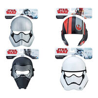 Star Wars E8 Rp Mask - Assorted