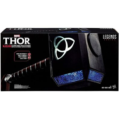 Marvel Legends Series Thor Mjolnir Electronic Hammer