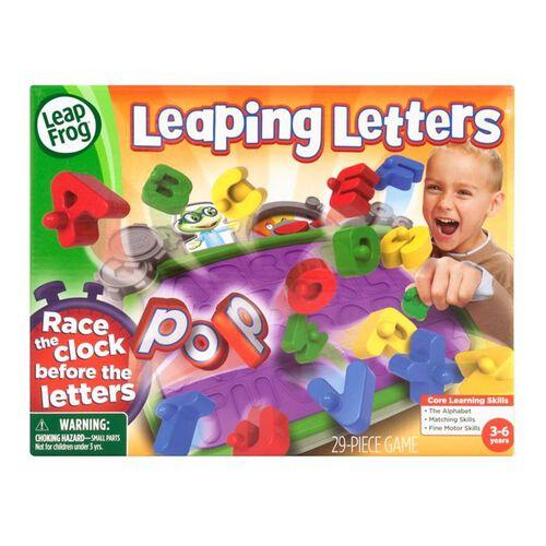 LeapFrog Leaping Letters