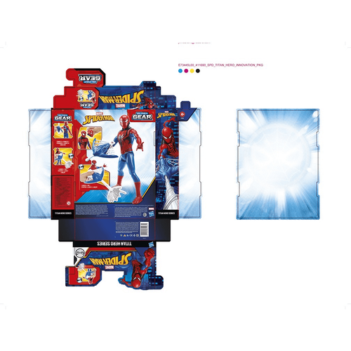 Marvel Spider-Man Titan Hero Series Blast Gear Spider-Man