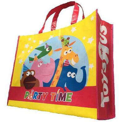 """Toys""""R""""Us Party Time Reusable Tote Bag"""