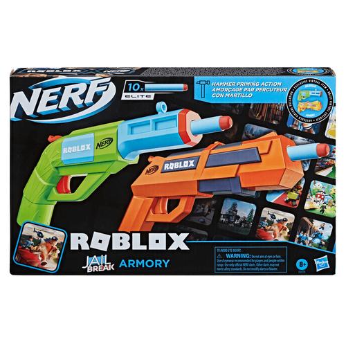 NERF Roblox Jailbreak: Armory Blaster 2-Pack
