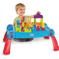 Mega Bloks Build 'N Learn Table