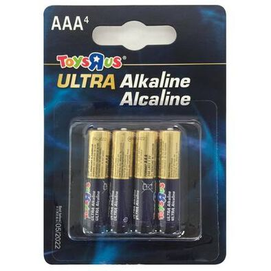 Ultra Alkaline AAA 4 Pieces