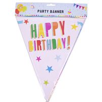 Party Flag Banner 3m