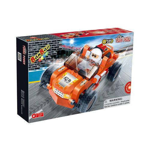 Banbao Turbo Power Orange Buggy 8623