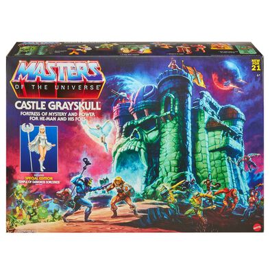 Masters of The Universe Hyper Retro Grayskull Playset