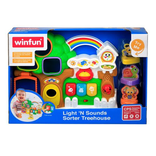 Winfun Lights 'N Sounds Sorter Treeho