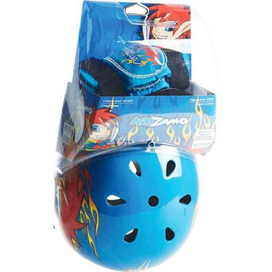 Kidzamo -Boys Skate Helmet Combo