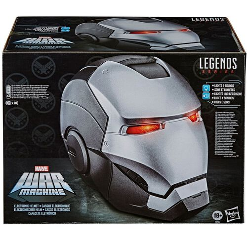 Marvel Legends Gear War Machine Electronic Helmet