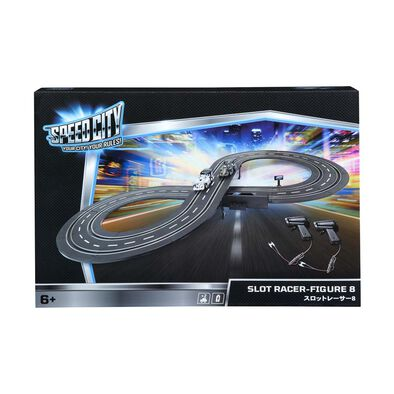 Speed City Slot Racer-Figure 8