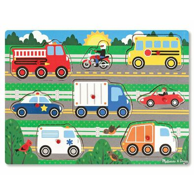 Melissa & Doug M&D First Peg - Assorted